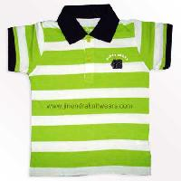 Kid's Collar T-shirt - Jinendra Knitwears
