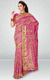 Embroidery Silks Saree