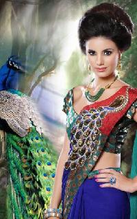 Peacock Saree
