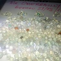 White Rough Diamonds