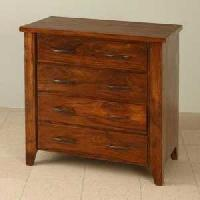 Wooden Four Drawer Cabinet