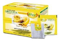 Lemon And Ginger Green Tea