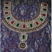 Embroidery Suits Manufacturer Offered By Sarthak Fashions