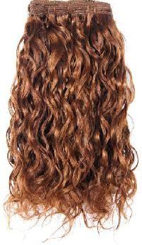 machine curly hair