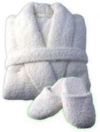 Cotton Terry Bathrobe