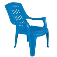 Plastic chair offered by prima plastics limited mumbai for Plastic easy chair