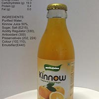 Kinnow Fruit Juice