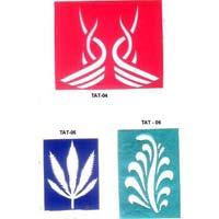Vinyl Paper Sheet Henna Stencils