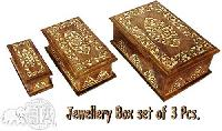 Wooden Jewellery Box - 002