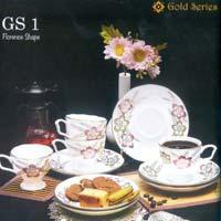 Gold Series Cup & Saucer Set