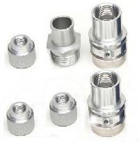 aluminium machined component