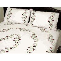 Embroidered Bed Sheet  Manufacturers Suppliers