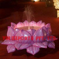 Lotus Water Fibre Fountain