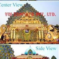 PEACOCK THEME SRI LANKA WEDDING MANDAP