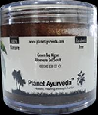 Green Tea Algae Aloevera Gel Scrub