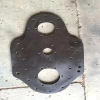 Rotavator LHS Gear Plate