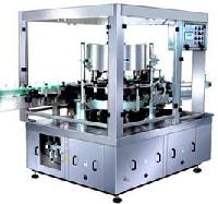 Automatic Glue Labelling Machine