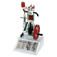 Sectional Model of 4 Stroke Cycle Diesel Engine