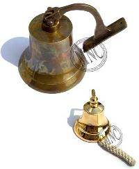 Nautical Marine Solid Cast Brass Ships Bell