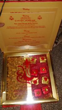 Satin Dry Fruit Box