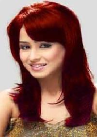 Burgundy Henna Hair Color