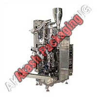 Single Track Pouch Packaging Machine