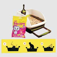 Clumping Cat Litter (San Him)