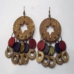 Wooden Earring 2