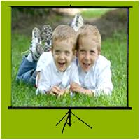 Tripod Type Projector Screen