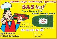 Sas Paper Banana Leaf