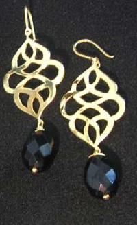 Semi Precious Stone Earrings (E-309)