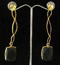 Semi Precious Stone Earrings (E-362)