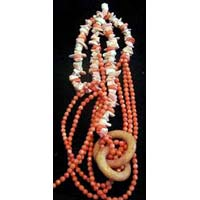 Semi Precious Stone Necklace (WF-17)