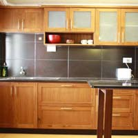 Modular kitchen cabinets manufacturers suppliers for Prefabricated kitchen cabinets