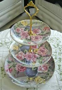 Three Tier Server Floral