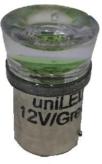 uniLED LED Turn Signal Indicator Bulb GREEN Color Emitting