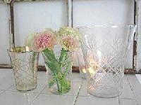 Glass Flower Vases (KS-GL-70009)