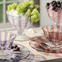 Glass Fruit Bowls