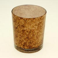 Marble Colored Votive Candle Holder