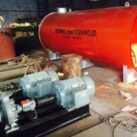 oil thermic fluid heater