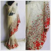 Heavy Sequence Work Sarees