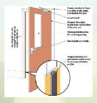 Clean room clean room door 01 clean room door 02 for 1 hour fire rated wood door
