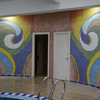 Glass Mosaic Work