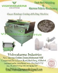 Gauze Bandage Machine For Cutting