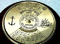 100 Year Brass Calendar