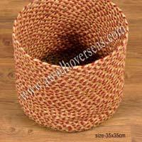 Jute Braided Basket Ao-br-002