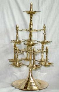 Brass Jyoti Oil Lamp