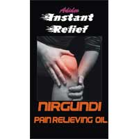 Pain Relieving Oil