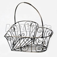 Heart Shaped Wire Baskets
