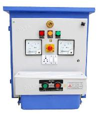 Divya switchgear offers three phase dol panel thermal for Motor starter control panel